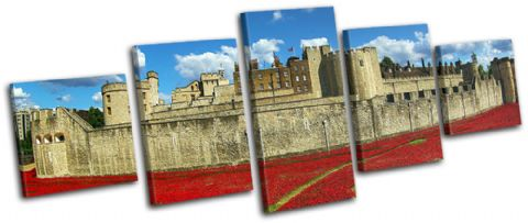 Tower of London Poppies City - 13-2356(00B)-MP07-LO